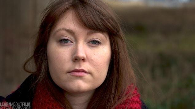 Closeup of girls face