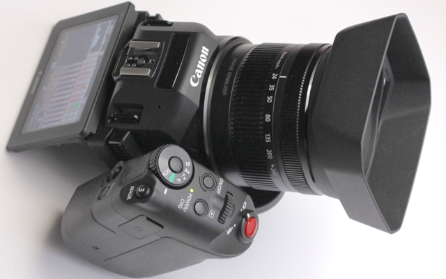 Canon XC10, an easy-to-use broadcast quality camcorder