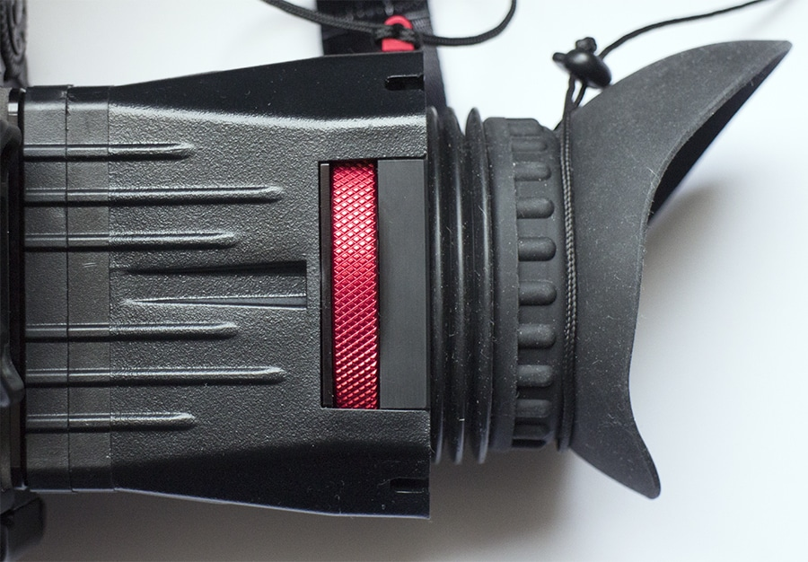 Top view of Zacuto Z-finder