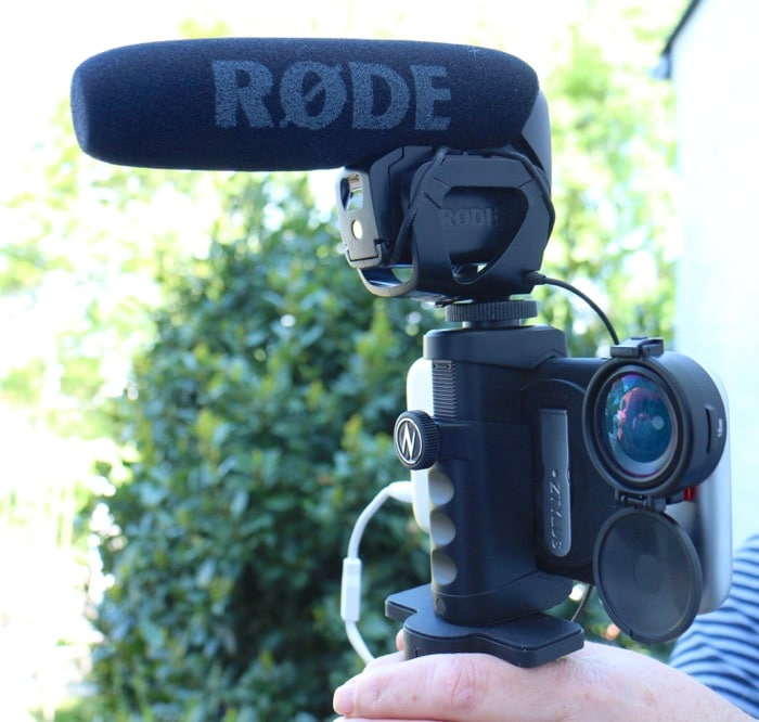 iPhone 6S Ztylus Rode VideoMic Pro documentary filmmaking kit