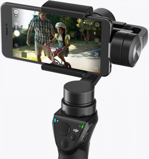 DJI Osmo Mobile stabiliser for iPhone and other smartphones