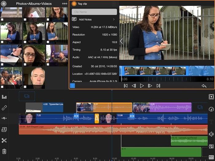 LumaFusion video editing app for iPhone and iPad