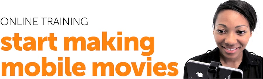 Online mobile film training